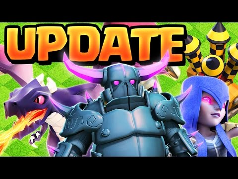 UPDATE! Clash of Clans 2017 Updates -  Balancing, THEN MASSIVE!