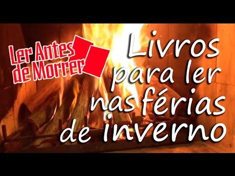 LIVROS PARA LER NAS FÉRIAS DE INVERNO (2015) - YouTube