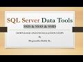 SQL Server Data Tools [MSBI] Installation Steps