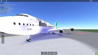 Roblox Beta Fleet Flight! B747 | B u t t e r