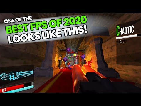 One of THE BEST FPS Games of 2020 - ULTRAKILL | Extremely Fast Paced Shooter