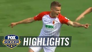 Video Gol Pertandingan Augsburg vs Borussia Monchengladbach