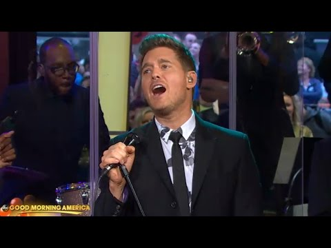 Michael Buble - Nobody But Me  [LIVE GMA PERFORMANCE]