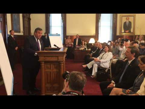 Gov. Christie - Lt. Gov. Guadagno is a jobs creator