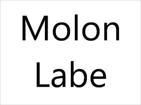How to pronounce molon labe