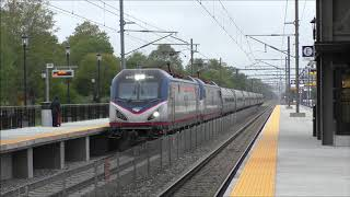 Amtrak HD 60fps: Northeast Corridor Afternoon Action @ Kingston RI (9/18/17)