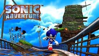 Sonic Adventure: (Dreamcast) Sonic