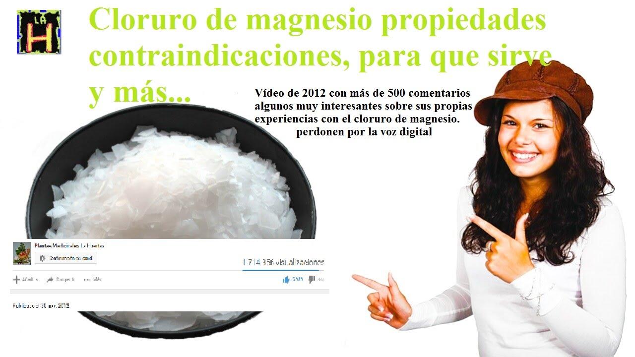 De Magnesio De Pastillas Cloruro