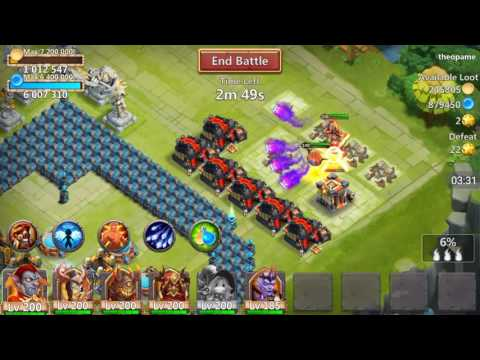 Castle Clash - Hero Review - Trixie Treat!