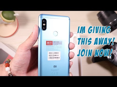 xiaomi-redmi-note-5-ai(global)-blue-unboxing!