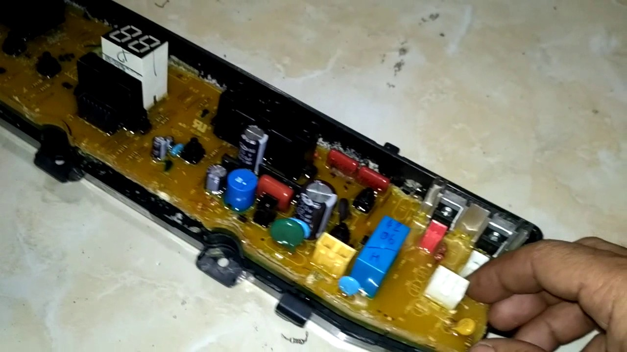 Tricks Services Digital Modul Top Loading Washing Machine Samsung Motor Disposal Of Water Not Work