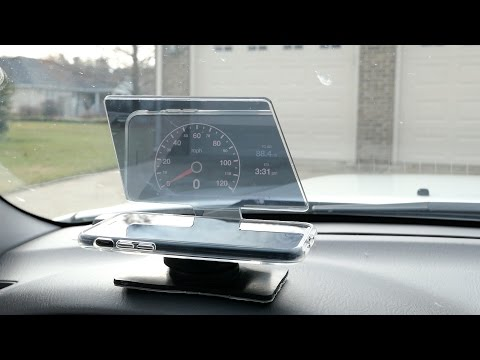 Hudify | A Heads Up Display for Your Car!
