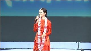 Выступление Сати Казановой (Sati Ethnica) на празднике Джанмаштами