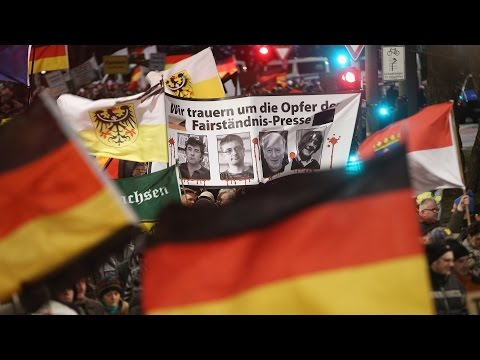 Thousands Join Anti-Islamization March in Dresden
