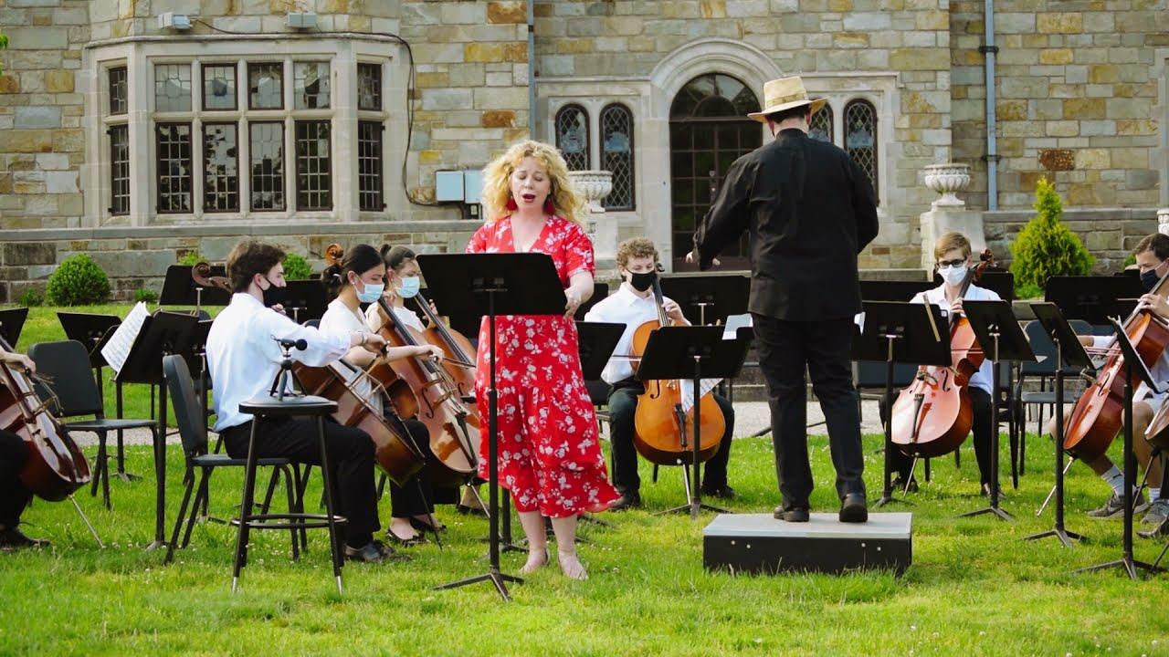 NYS Principal Cellos, featuring soprano vocalist Amelia Watkins