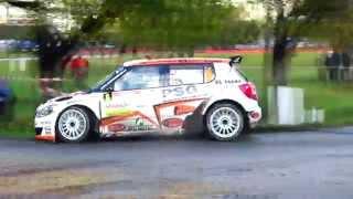Vid�o Shakedown / Qualification ERC - Rallye du Valais 2015