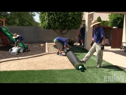How To Install Synthetic Turf
