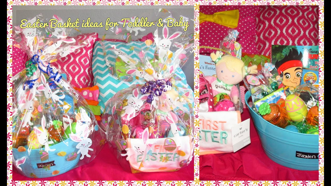Easter basket ideas toddler baby youtube easter basket ideas toddler baby negle Choice Image