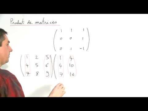 Exercice 1 (Matrices) [01040]