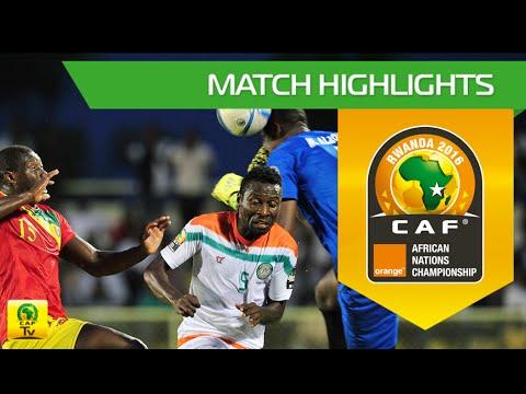 Niger vs Guinea | Orange African Nations Championship, Rwanda 2016