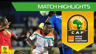 Niger vs Guinea | Orange African Nations Championship, Rwanda 2016