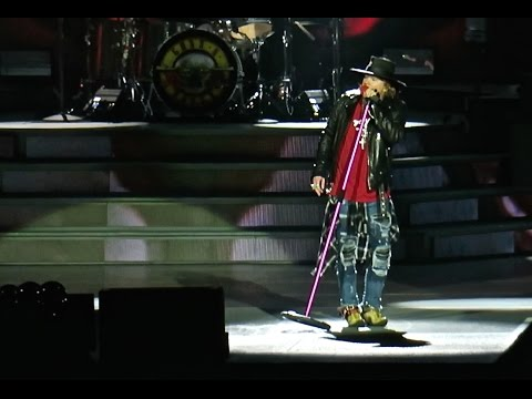 Guns N' Roses - There Was a Time - San Diego, Ca. 08.22.2016