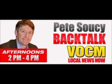 VOCM Backtalk Roger Grimes Talks About Alderon and Frank Coleman May 28 2014