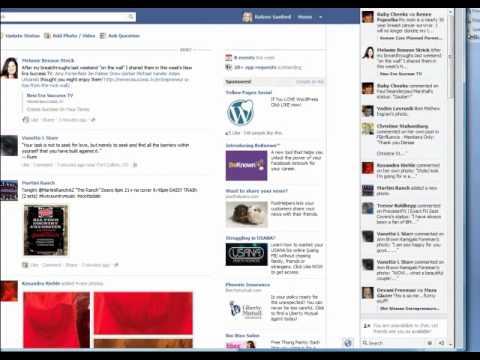 Hide-Unhide Ticker on Facebook