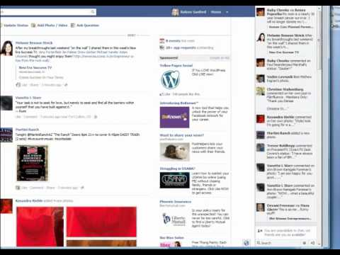 Hide Unhide Ticker On Facebook Youtube