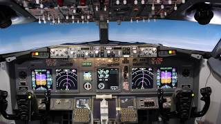 737-800ng full enclosed simulator