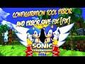 Sonic Generations Configuration Tool Error and Error Save Fix FIX