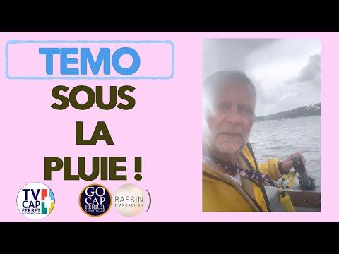 TEMO Moteur électrique 05 En bateau avec le TEMO sous la pluie ! Cap Ferret Bassin d'Arcachon