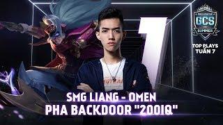 """Pha backdoor """"200IQ"""" của SMG Liang - Top Plays GCS Tuần 7 - GCS mùa Hè 2018"""
