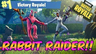Fortnite Battle Royale - NEW RABBIT RAIDER SKIN - DISCO FEVER!!
