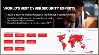 F-Secure's Results Webcast Q2/2018 – with CEO Samu Konttinen