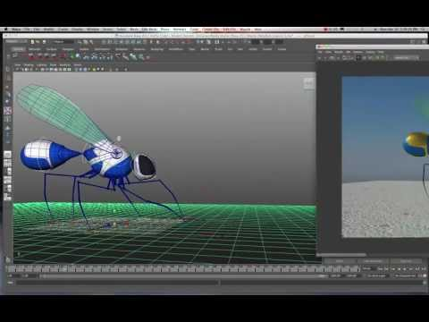 Maya 2011/2012 Basic Animation Practice with a Pre-Built Rig Tutorial by Stuart Christensen