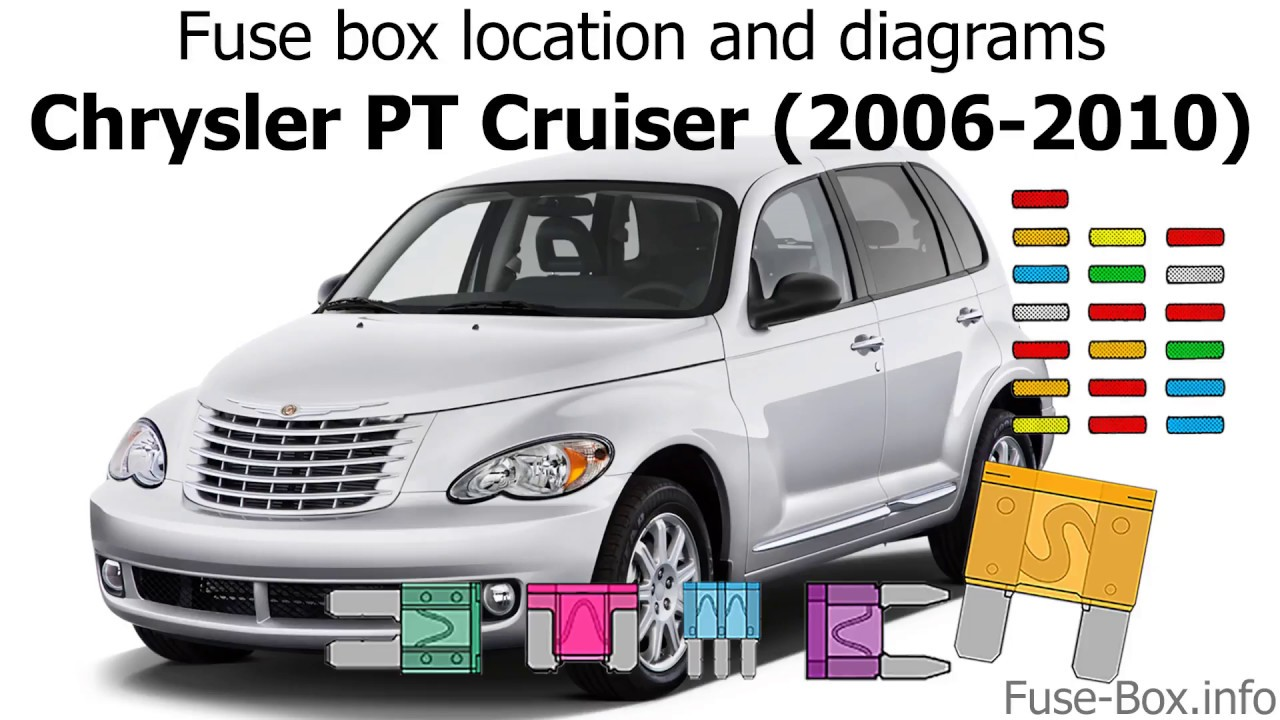 fuse box location and diagrams: chrysler pt cruiser (2006-2010) - youtube  youtube