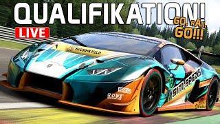 Das Qualifying! - 24 Stunden Spa LIVE | Assetto Corsa [HD] Huracan GT3