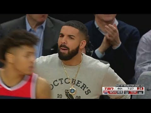 Drake Gets Angry and Calls Kelly Oubre Jr A Bum!