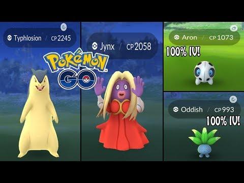 Oddish max CP for all levels - Pokemon Go