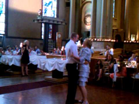 Mother And Son Dance To An Unusual Song At A Wedding In June