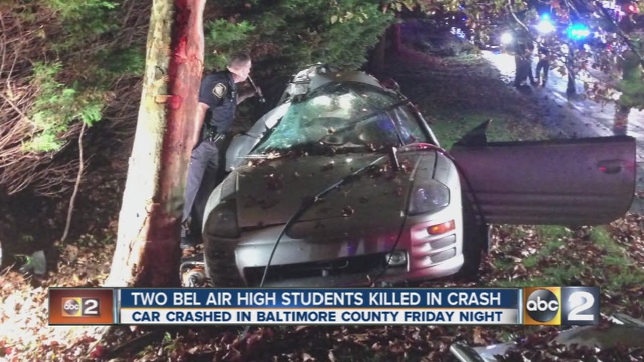 Bel Air High School students cope with fatal crash that killed two students