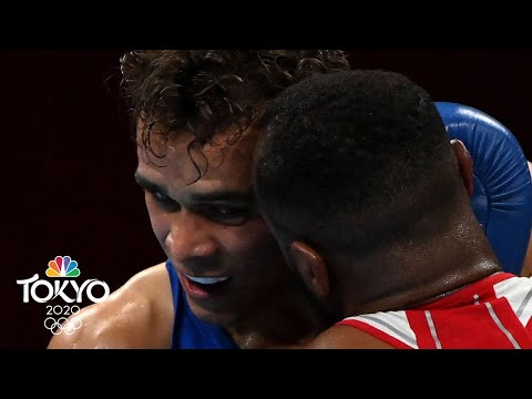 Boxer channels Mike Tyson, tries to bite his opponent's ear during Tokyo Olympics bout  NBC Sports