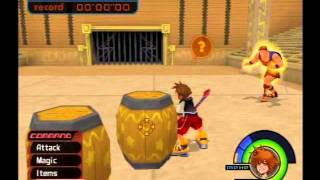 Kingdom Hearts Playthrough - Part 113, Olympus Coliseum, Hercules Cup, Time Limit Cheat