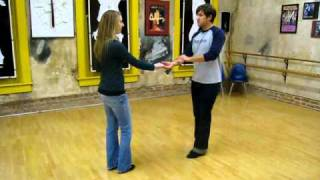 west coast swing, apache, cross hands (2 versions), inside turn whip