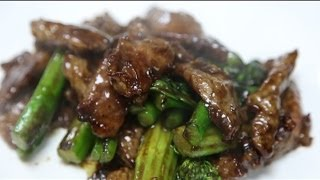 Beef With Chinese Broccoli  芥蘭 牛肉