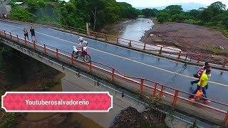 Ultima Hora!!! Colapsa puente Chalatenango 1ra entrega El salvador
