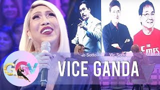 Vice Ganda asks Tito, Vic, & Joey a question | GGV