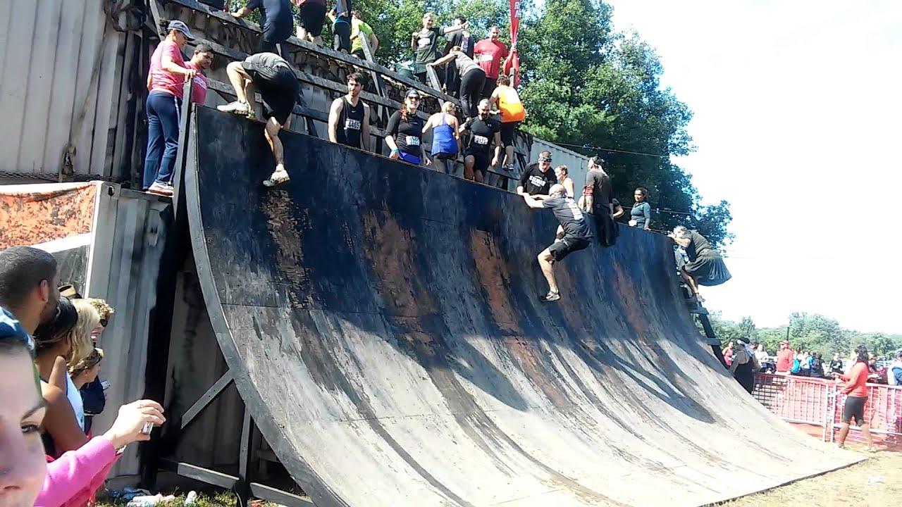 Rugged Maniac Southwick 2015 Warped Wall
