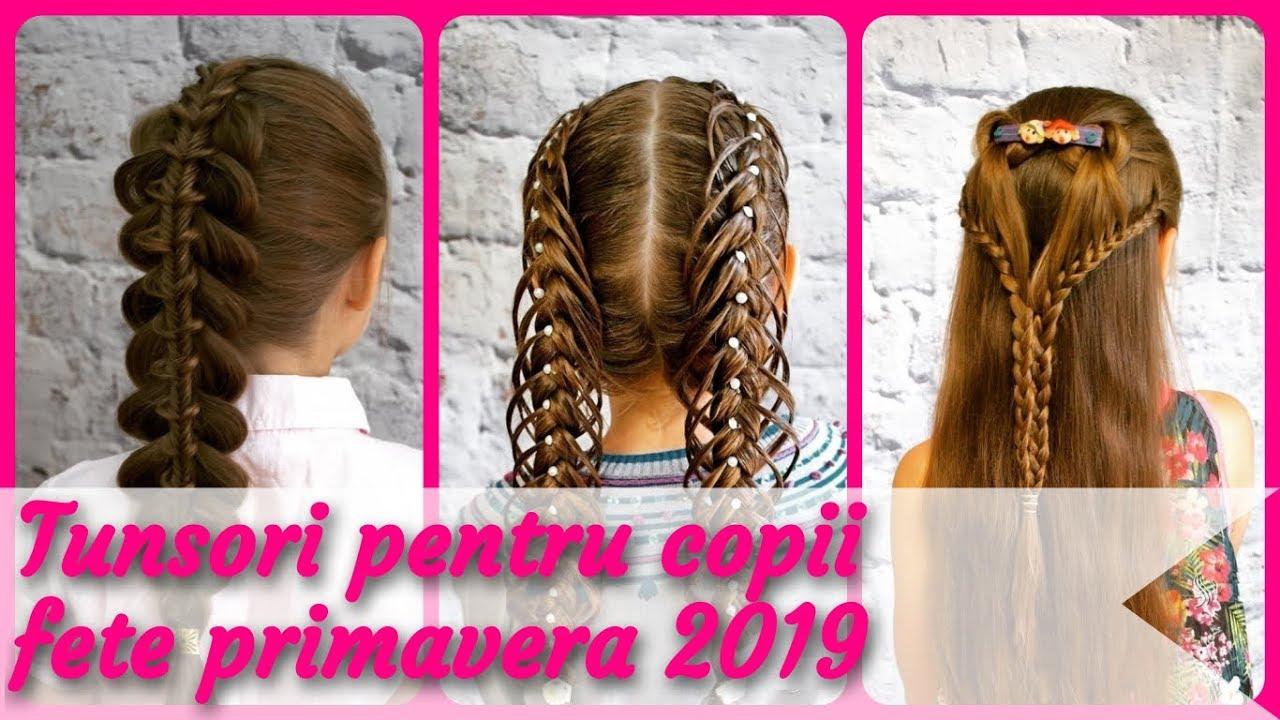 20 Modele Tunsori Pentru Copii Fete Primavera 2019 Youtube